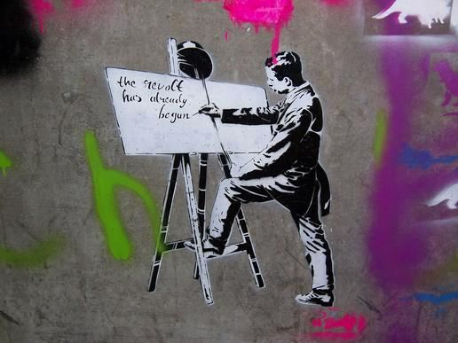 Banksy, The revolt had already begun